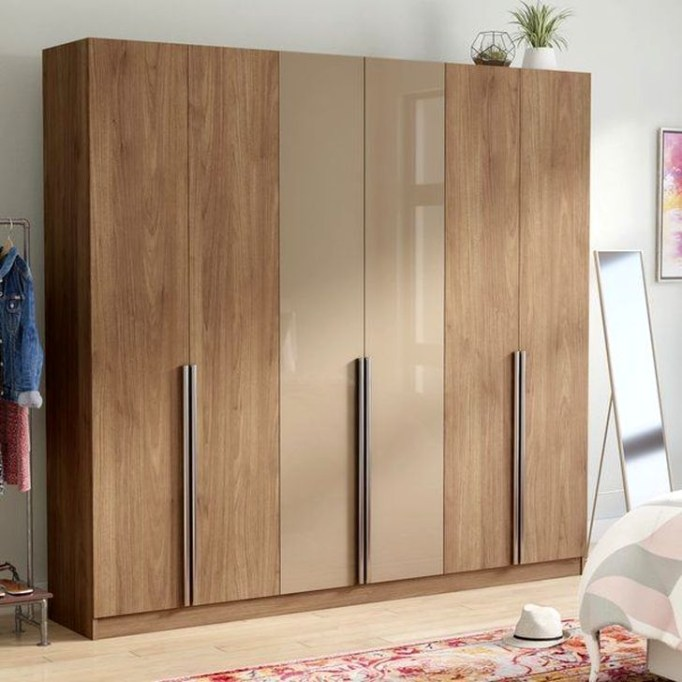 Elegant Wardrobe Design Ideas For Your Small Bedroom 51