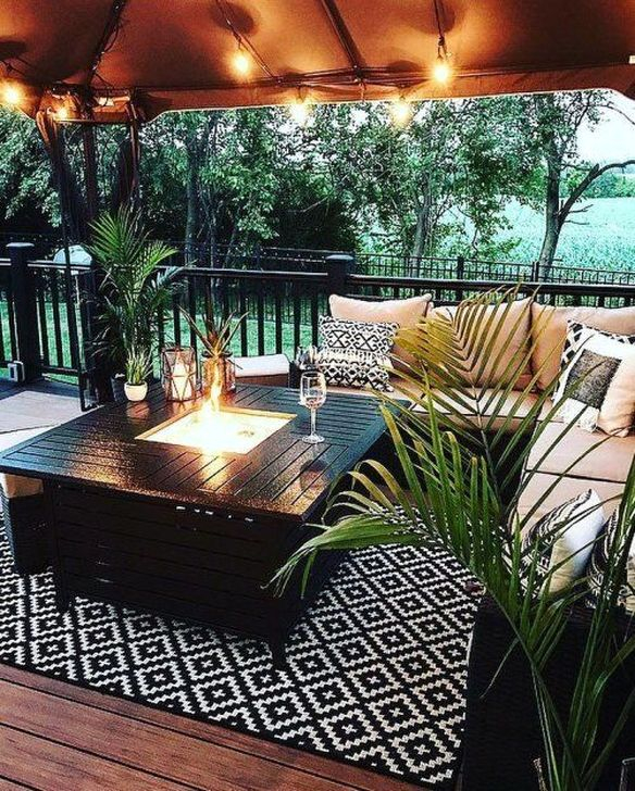 Fabulous Outdoor Seating Ideas For A Cozy Home 34