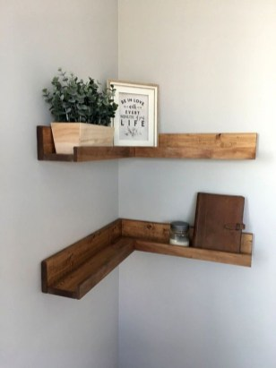 Genius DIY Floating Shelves Ideas For Home Decoration 17