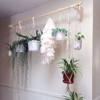 Inspiring DIY Vertical Plant Hanger Ideas For Your Home 09
