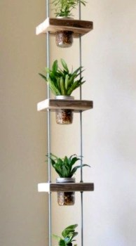 Inspiring DIY Vertical Plant Hanger Ideas For Your Home 30