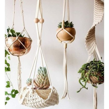 Inspiring DIY Vertical Plant Hanger Ideas For Your Home 42