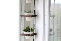 Inspiring DIY Vertical Plant Hanger Ideas For Your Home 46