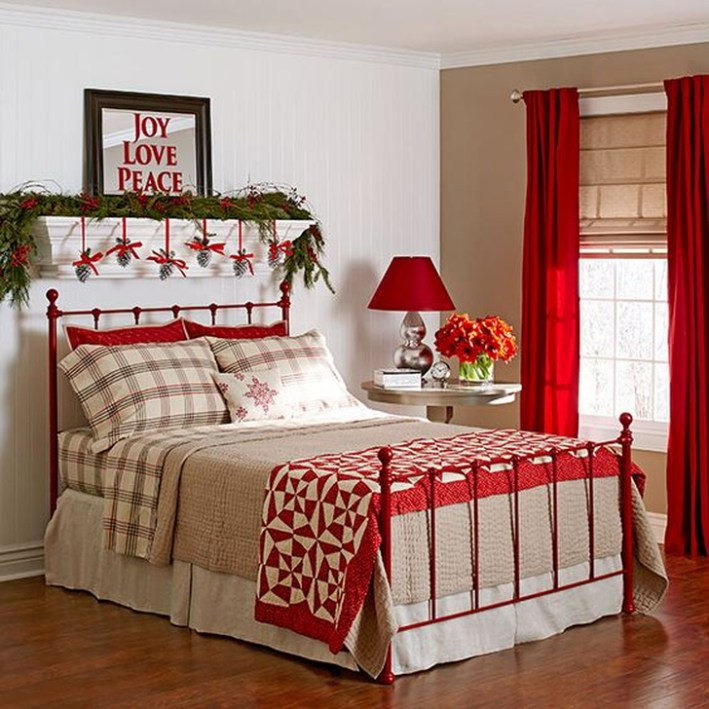 Magnificient Red Bedroom Decorating Ideas For You 01