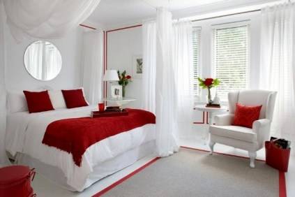 Magnificient Red Bedroom Decorating Ideas For You 03