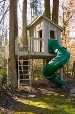 Marvelous Outdoor Playhouses Ideas To Live Childhood Adventures 31