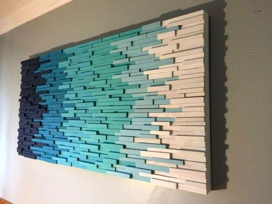 Unique DIY Wall Art Ideas For Your House To Try 42