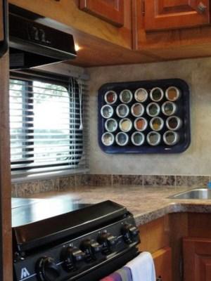 Unusual RV Kitchen Organization Ideas You Should Know 06