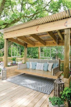 Awesome Backyard Seating Ideas For Best Inspiration 07
