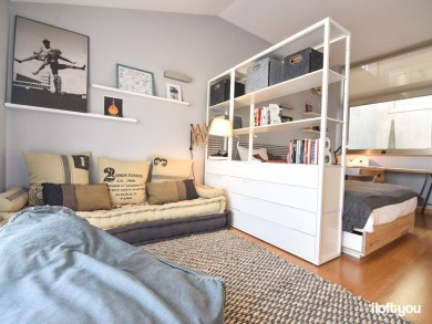Marvelous Divide Room Decoration Ideas That Look More Comfort 34
