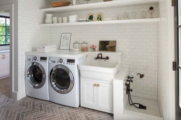 Perfect Functional Laundry Room Decoration Ideas For Low Budget 08