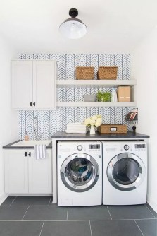 Perfect Functional Laundry Room Decoration Ideas For Low Budget 09