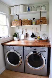 Perfect Functional Laundry Room Decoration Ideas For Low Budget 20