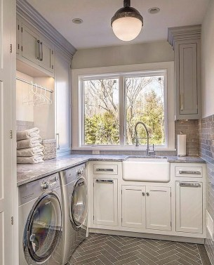 Perfect Functional Laundry Room Decoration Ideas For Low Budget 25