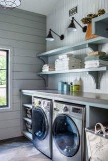 Perfect Functional Laundry Room Decoration Ideas For Low Budget 30