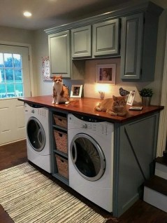 Perfect Functional Laundry Room Decoration Ideas For Low Budget 31