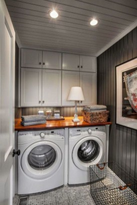 Perfect Functional Laundry Room Decoration Ideas For Low Budget 34