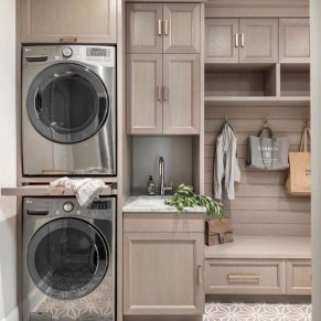 Perfect Functional Laundry Room Decoration Ideas For Low Budget 36