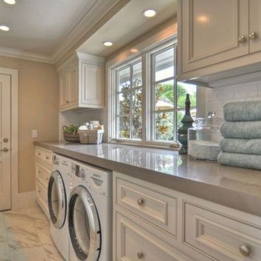 Perfect Functional Laundry Room Decoration Ideas For Low Budget 47