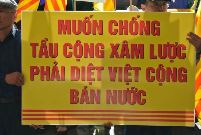Image result for Chống Tàu, diệt VC
