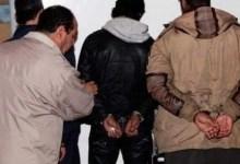 صورة إيقاف شخصين  متهمين بمحاولة السرقة بحي السلام باكادير