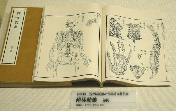rangaku_First_Japanese_treatise_on_Western_anatomy