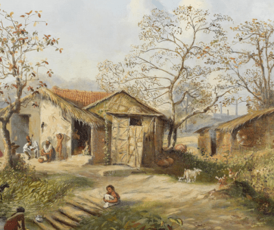 village, hut, ಹಳ್ಳಿ ಮನೆ