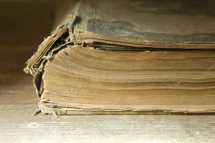 ದೂಳಿನ ಹೊತ್ತಗೆ, dusty book