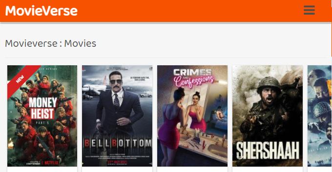 MovieVerse Movies