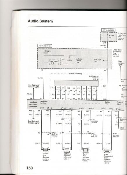 2000 civic radio wiring diagram  bobber kz650 wiring