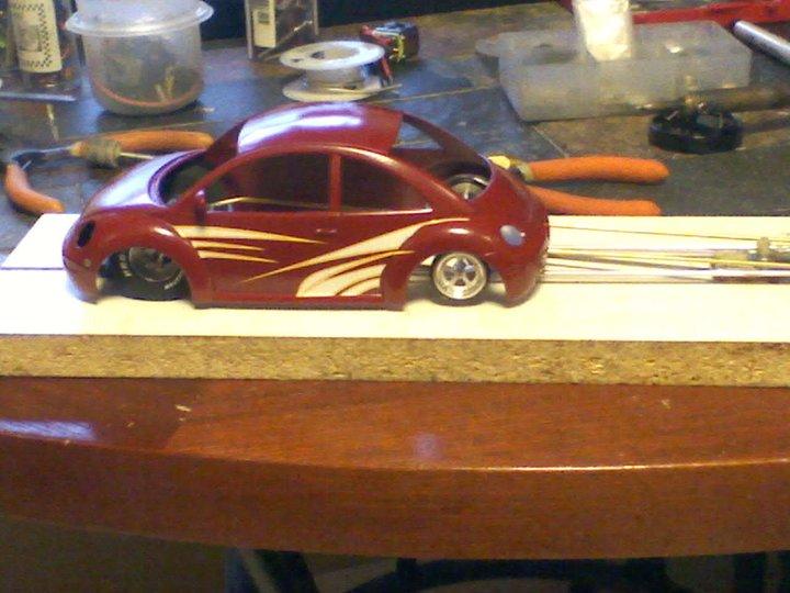 Racing Drag Car Rc Slot