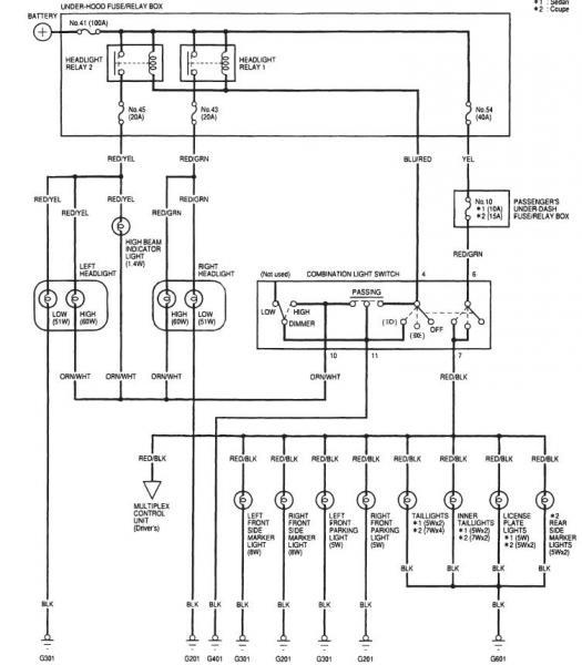 245480d1323696523 still need help my lighting issue 99 accord 6th gen ext lights?resize=525%2C600 2000 honda accord ex radio wiring diagram wiring diagram,2000 Honda Civic Radio Wiring Harness