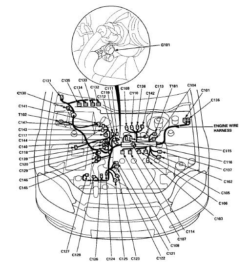 96 Honda Civic Engine Diagram