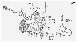 B18A1 tranny bolt size part number?  HondaTech  Honda