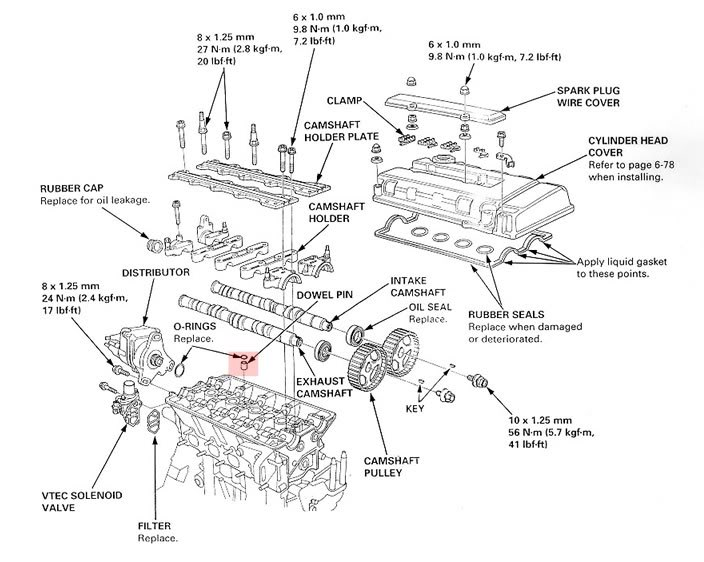 Diagram Integra Exhaust System Diagram 200 69 79 Pro