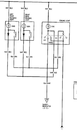 Vigor map light wiring diagram DESPERATE  HondaTech