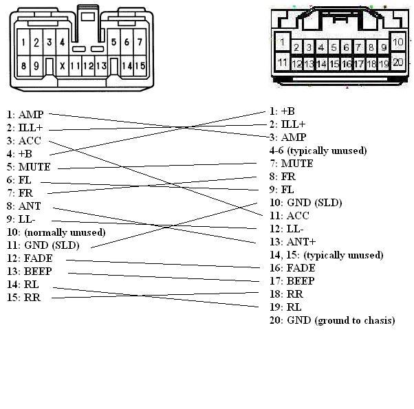 1999 toyota corolla car radio stereo audio wiring diagram - best rh:wiring miaw us  | 595