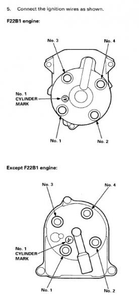 Quick help needed: f22b firing order  HondaTech  Honda