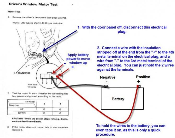 1997 honda accord power window wiring diagram  semi trailer