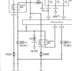 Questions regarding Radiator Fans  HondaTech  Honda