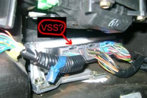 Honda Accord 1998 EXV6 Coupe VSS and reverse wires (PICS included)  HondaTech  Honda Forum