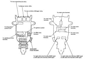 NEEDED!! 1994 Accord Fuse Diagram!  HondaTech  Honda Forum Discussion