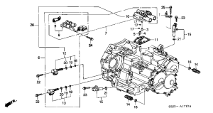 Accord 3rd clutch switch part# and location???  HondaTech  Honda Forum Discussion
