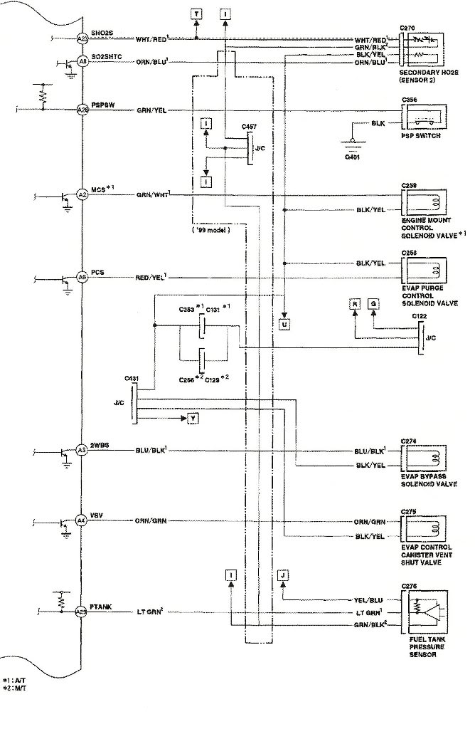 1999 honda accord ecu pin wiring diagram  1992 mazda 626