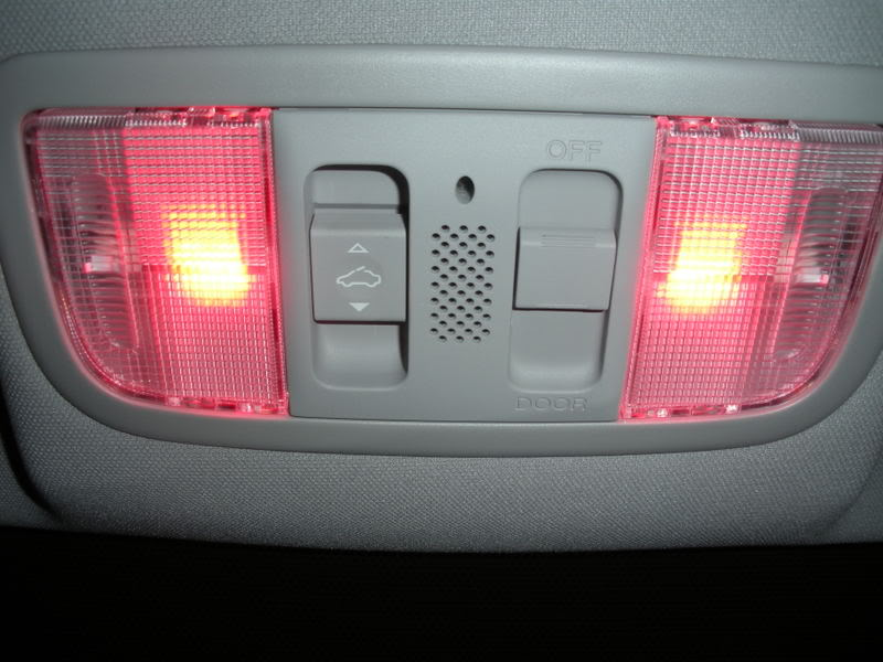 2008 Honda Accord Interior Light Size