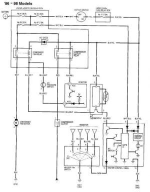 96 civic ac pressor wiring questions  HondaTech