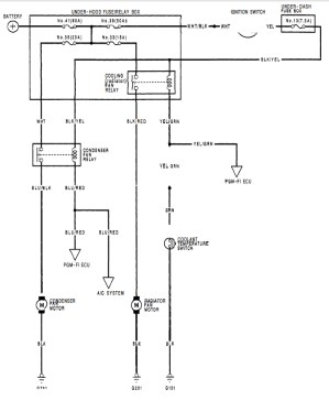 92 Civic hatch  need fan switch wiring help  HondaTech  Honda Forum Discussion