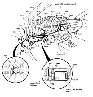 Help with under dash wiring  HondaTech  Honda Forum