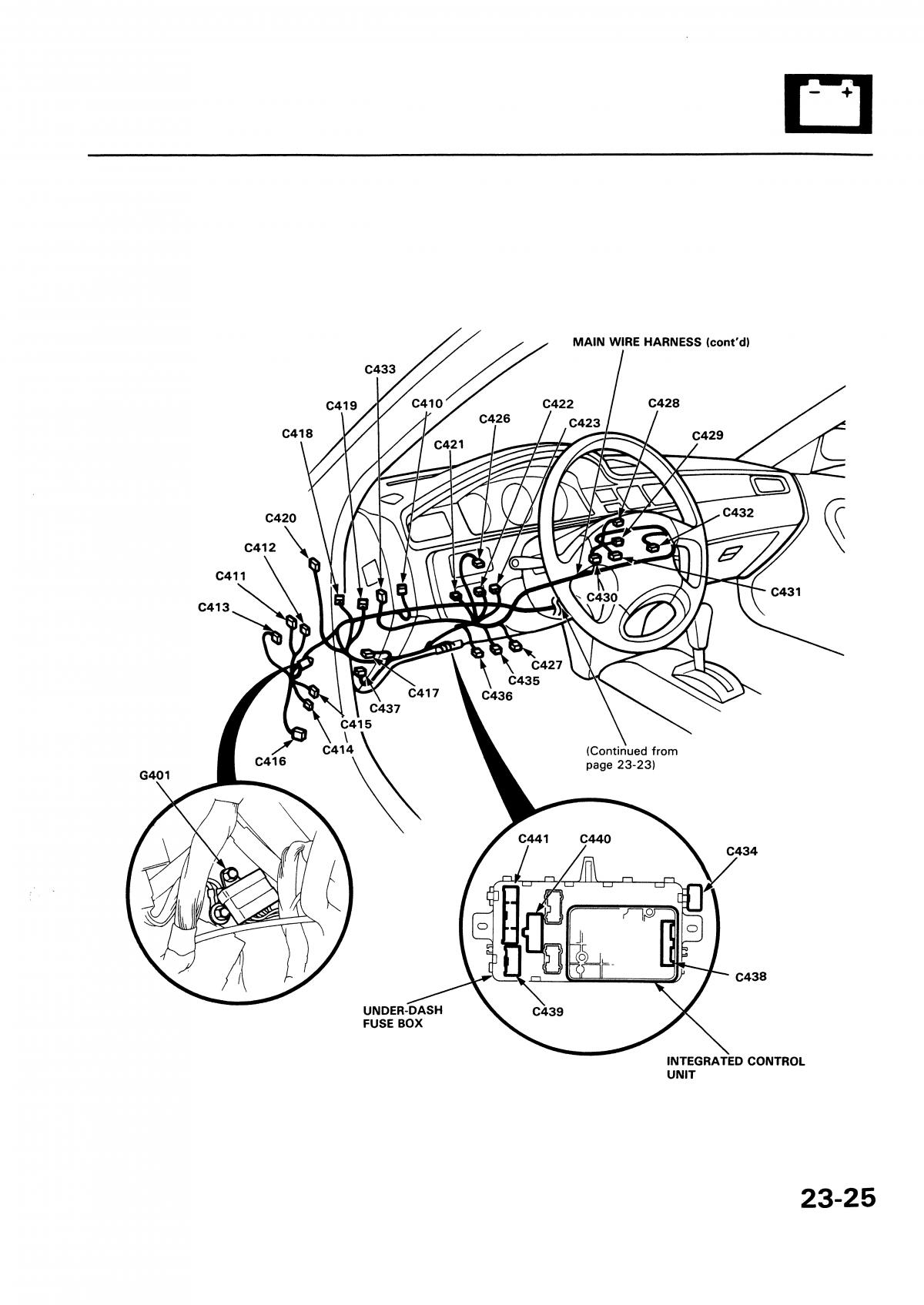 92 95 Honda Civic Electrical Wire Diagram
