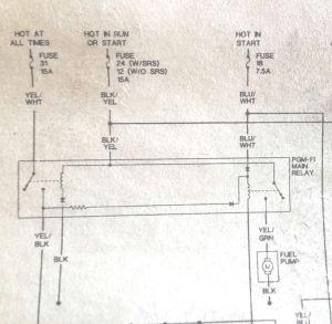95 civic no power to the fuel pump plz help!!  HondaTech